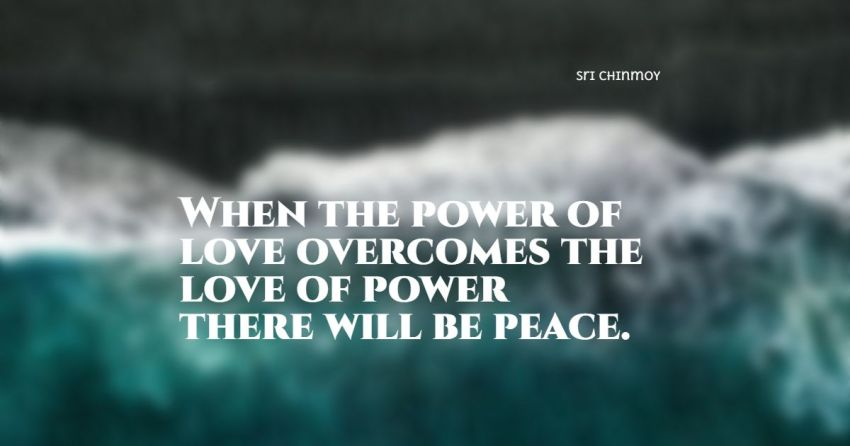 peace and love quotes