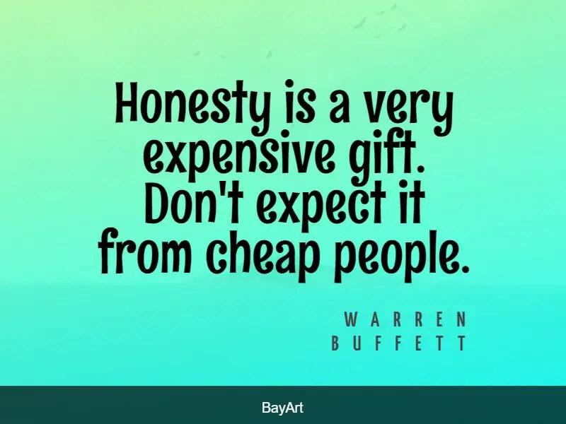 popular honesty quotes