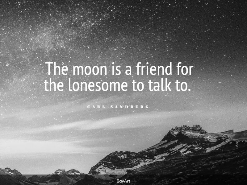 sweet moon quotes