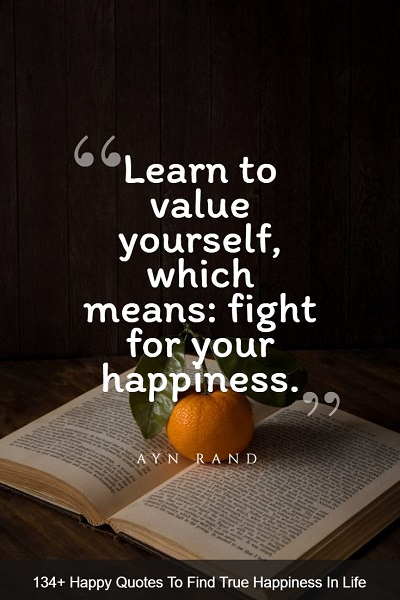 best happy quotes about life