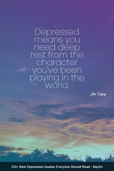 best quotes about depression