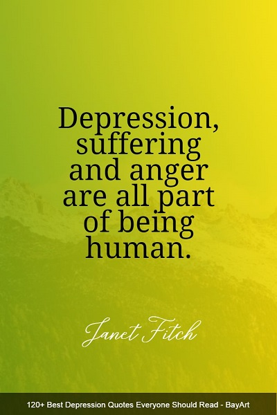 famous depression quotes and sayings