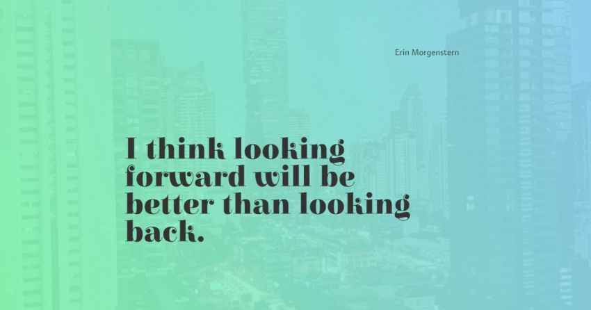 looking back quotes