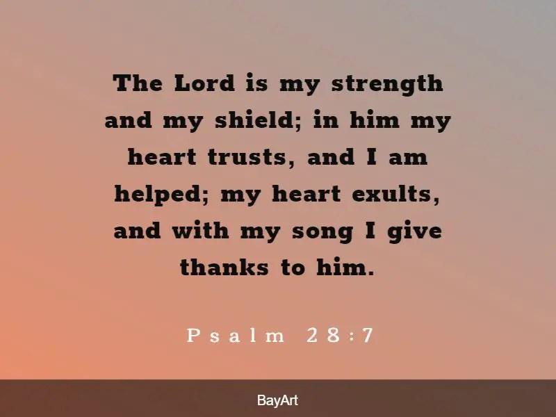 encouraging thankful bible verses