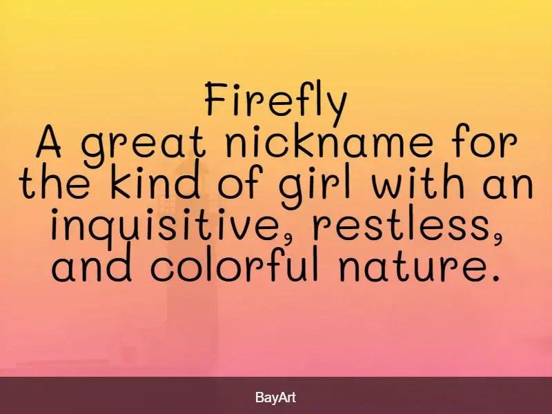 female nicknames