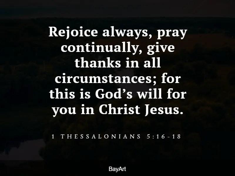 thankful scripture