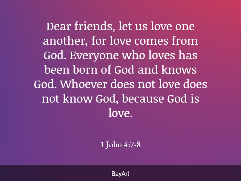 scriptures on loving others