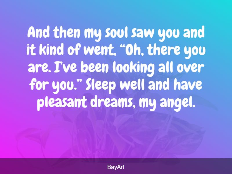 sweetest goodnight messages for her