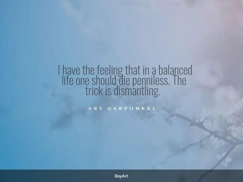 famous balance quotes