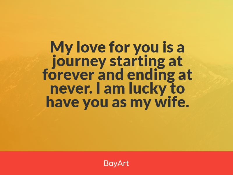 love messages for wife