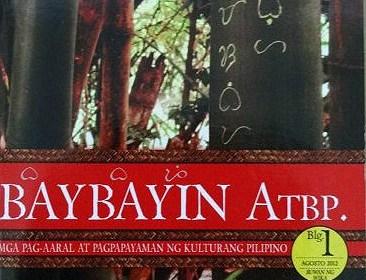 Book: Baybayin ATBP