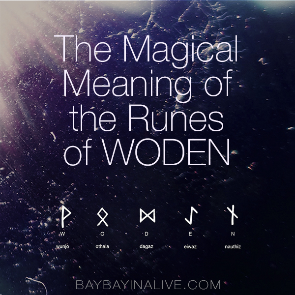 The Magical Meaning Of Woden In Nordic Lore Baybayin Alive