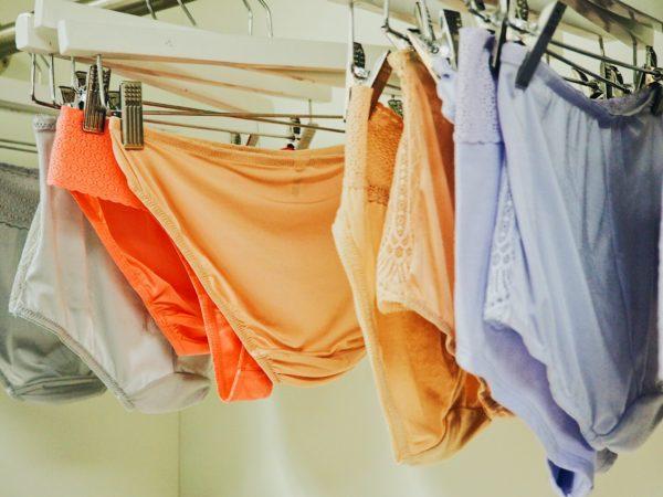 Peach underwear