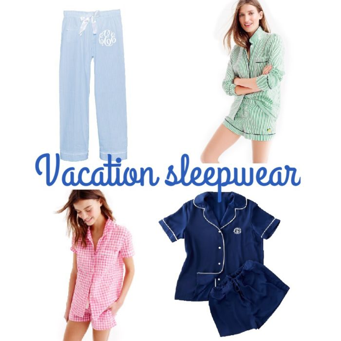 Vacation Sleepwear.. How to Find the Best Pajamas