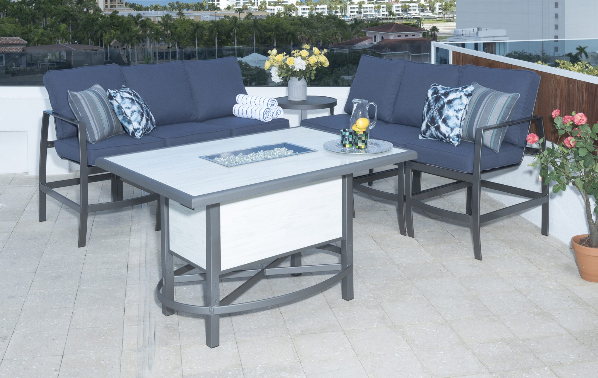 outdoor by design krisp balcony height