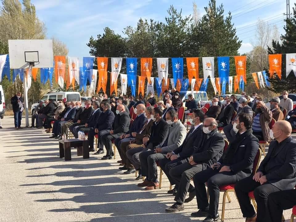AK Parti Aydıntepe İlçe Başkanlığına Beşbaş seçildi