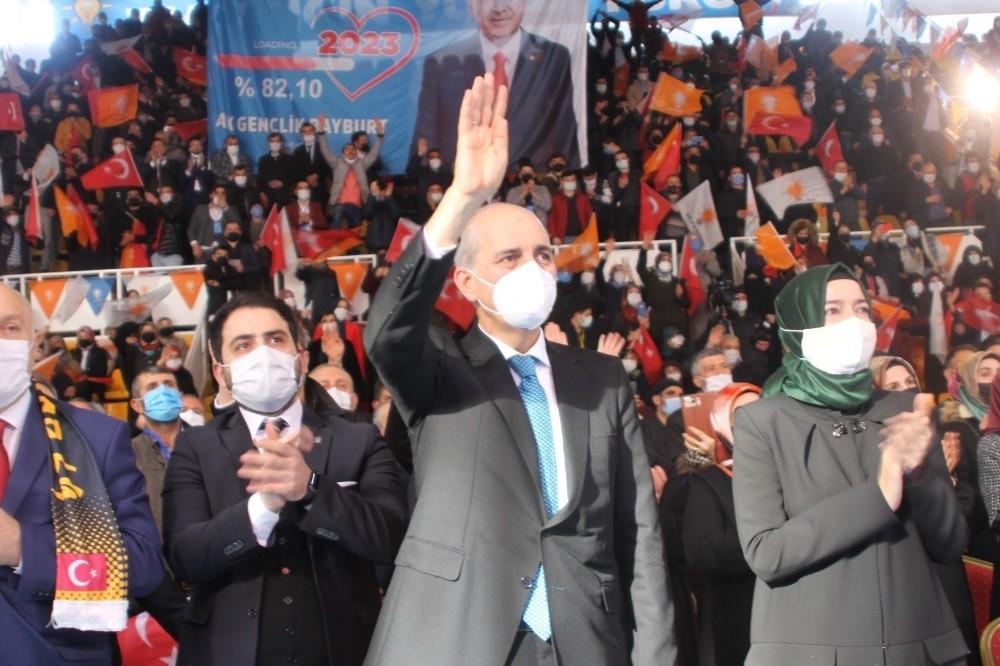 """AK Parti Genel Başkanvekili Numan Kurtulmuş: """"Biz gavurun ne dediği değil milletin ne dediğine bakıyoruz"""""""