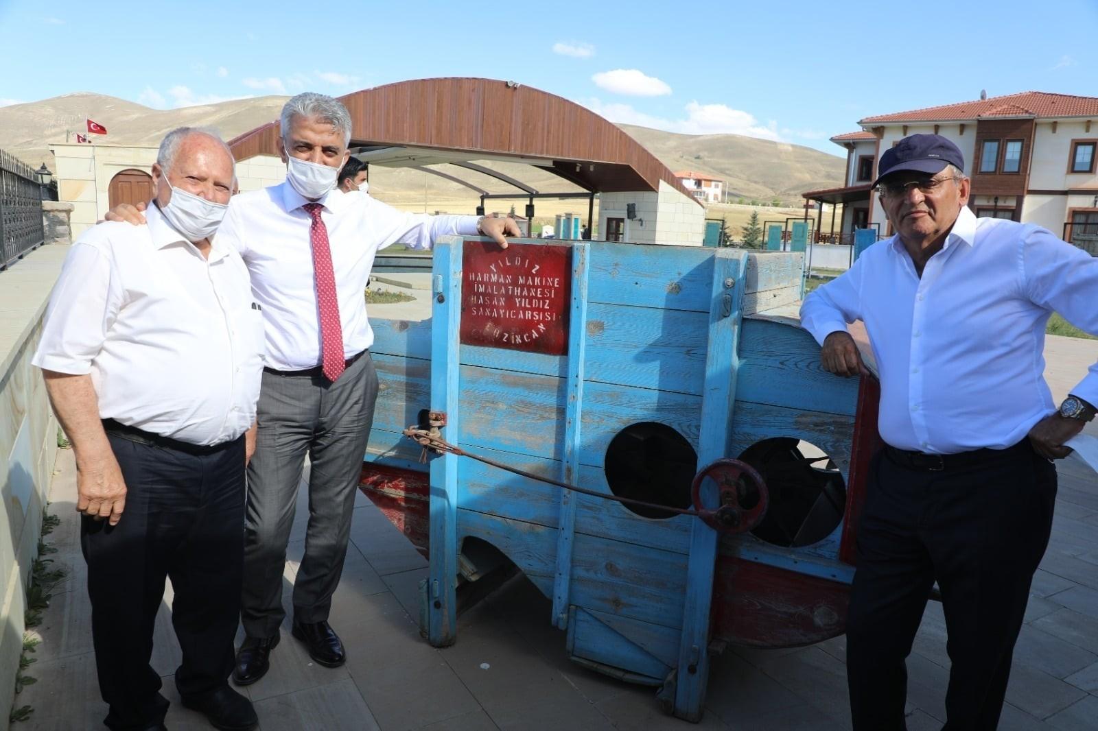 Vali Makas Kenan Yavuz Etnografya Müzesini gezdi