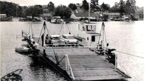 The punt was operating up to 1964