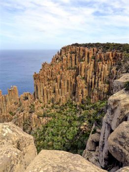 Dolomite pillar cape of Cape Raoul