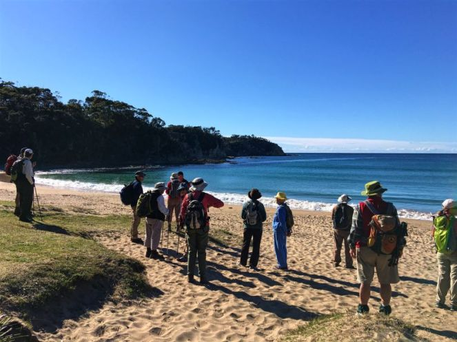 Start at Mackenzies Beach