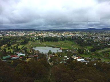 View of Goulburn from War Memorial Tower