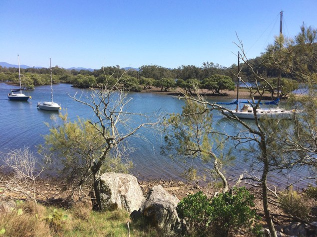 A peaceful backwater of the Moruya River