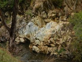 Ovens River rocks