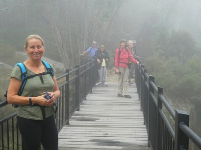Carolyn on Gorge Heritage Walk