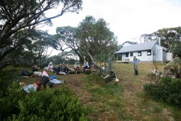 Lunch at Federation Hut