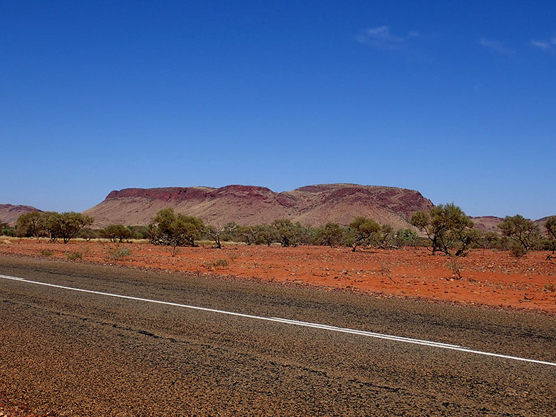We are in the Pilbara