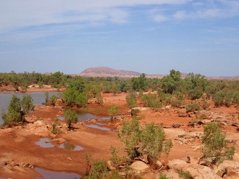 Nanutarra River.