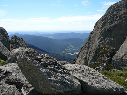 The valley from Porcupine Rocks.