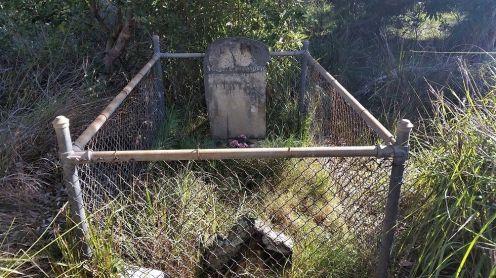 Historic Grave of Elizabeth Malebar