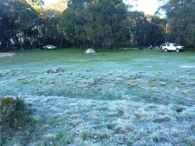 Waking up to frost