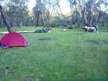 Paddys Creek Dam campsite