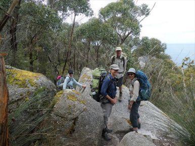 Ubiquitous granite boulders
