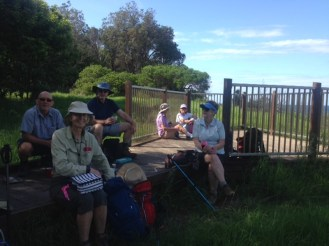 Morning tea - South Broulee headland