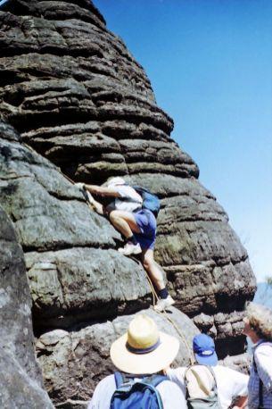 Ainslie ascending The Castle