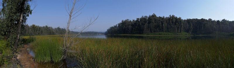 View across Deep Creek Dam