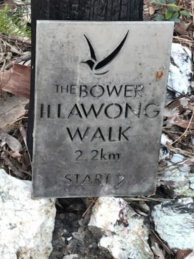 Start of the Illawong Walk