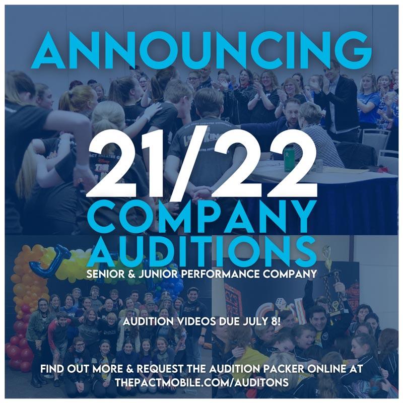 PACT Announces Auditions