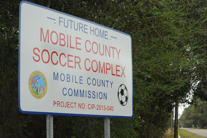 Mobile County Soccer Complex Updates