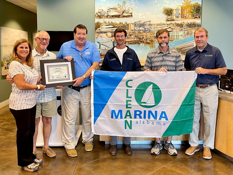 Saunders Yachtworks Certified Clean, Resilient