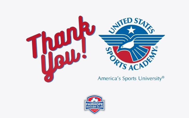 United States Sports Academy Sponsors Fairhope Soccer