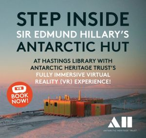 Step inside Sir Edmund Hillary's Antarctic Hut