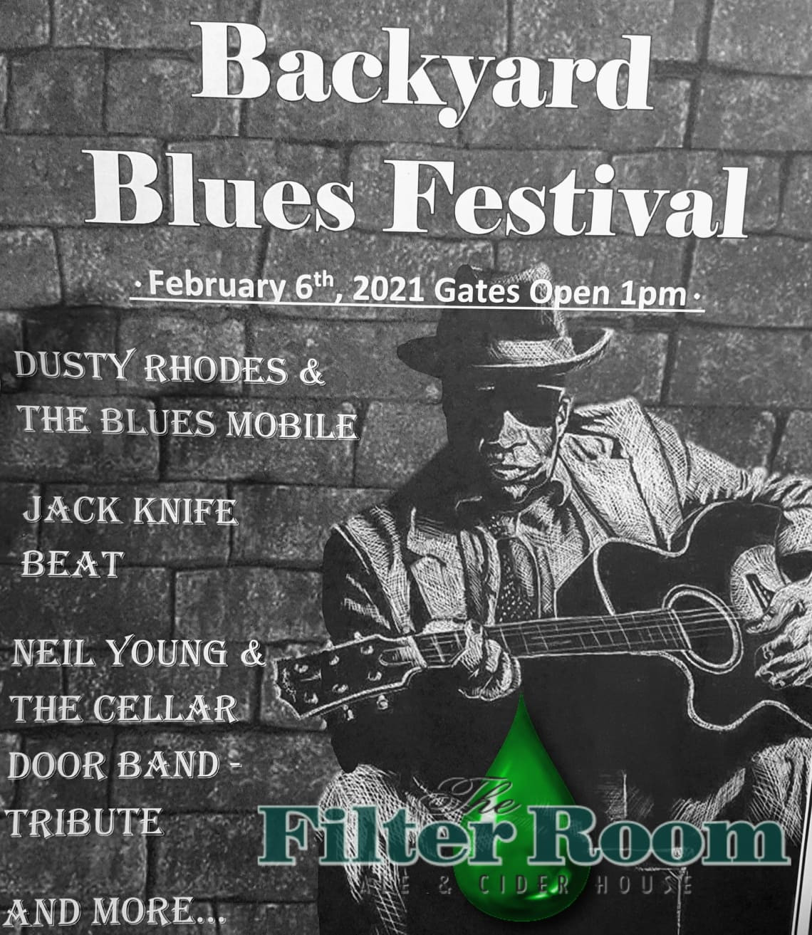 2021 Back Yard Blues Festival at The Filter Room