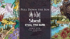 NAPIER - Pull Down the Sun - Of Valleys and Mountains Album Release Tour