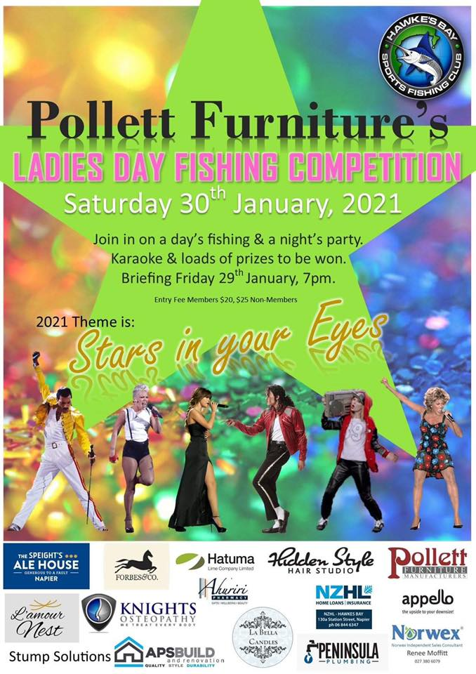 Pollett Furniture Ladies Day Fishing Competition