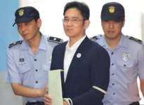 Samsung'un rüşvetten suçlu bulunan veliahtına 5 yıl hapis cezası!